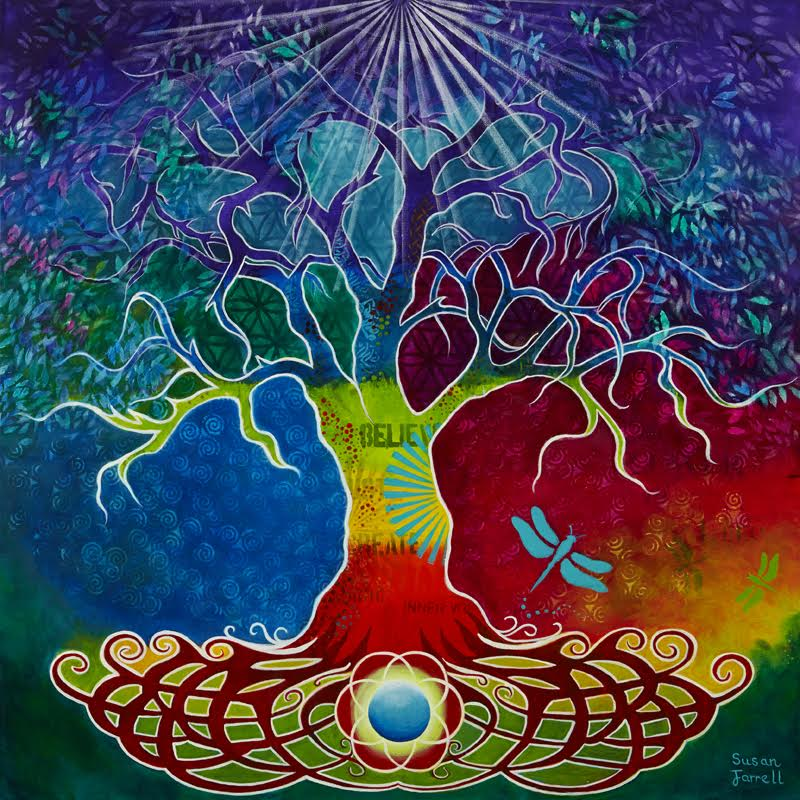 susan farrell art e courses chakra tree of life